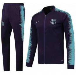 Спортивный костюм ФК Барселона т.сине-бирюзовый