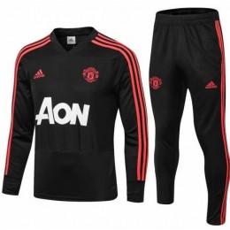 Спортивный костюм ФК Манчестер юнайтед черный
