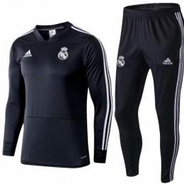Спортивный костюм ФК Реал черный