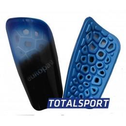Щитки Europaw light черно-голубые 02466