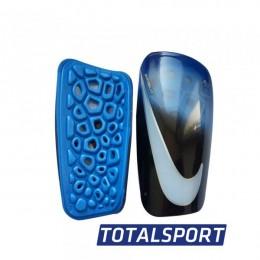 Щитки Nike голубо-черные 02364