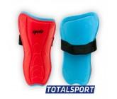 Щитки футбольные детские L красные 01262