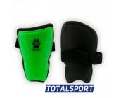Щитки футбольные детские M зеленые 01254