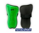Щитки футбольные детские L зеленые 01259
