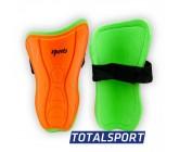 Щитки футбольные десткие L оранжевые 01263