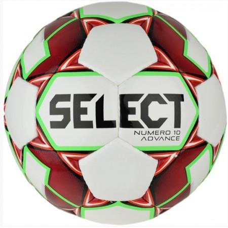 Мяч футбольный Select NUMERO 10 ADVANCE кр/бел размер 4