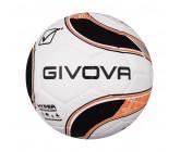 Футбольный мяч Givova PALLONE MATCH HYPER NERO/ARANCIO FLUO 1028