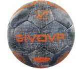 Футбольный мяч Givova PALLONE MATCH PLATINUM JEANS JEANS/ARANCIO FLUO 4028