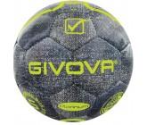 Футбольный мяч Givova PALLONE MATCH PLATINUM JEANS JEANS/GIALLO FLUO 4019