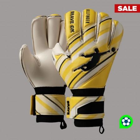 Перчатки вратарские BRAVE GK PHANTOME YELLOW/WHITE NEW 00020409