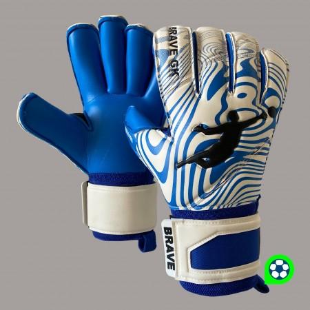 Перчатки вратарские BRAVE GK RAIN PRO BLUE 20080711