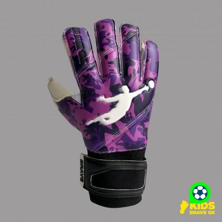 Перчатки вратарские BRAVE GK REFLEX CAMO PURPLE 21041005