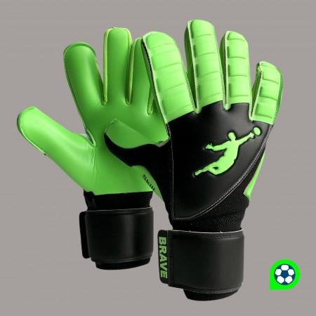 Перчатки вратарские BRAVE GK SKILL GREEN FLASH 21110508