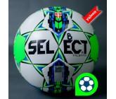 Футбольный мяч Select Talento размер 5 бело/синий Уценка