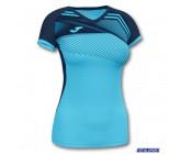 Женская футболка Joma SUPERNOVA II 901066.013 бирюзовая