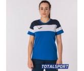 Женская футболка Joma CREW IV 901039.703 голубая