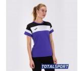 Женская футболка Joma CREW IV 901043.551 фиолетовая