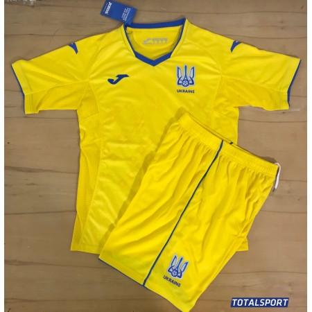 Акция! Хит! Комплект футбольной формы сборной Украины желтый(реплика)