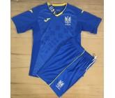 Акция! Хит! Комплект футбольной формы сборной Украины синий(реплика)