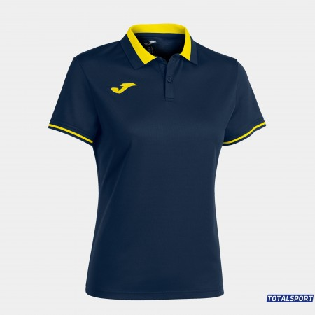 Женская футболка поло Joma 901272.321 POLO CHAMPIONSHIP VI синяя