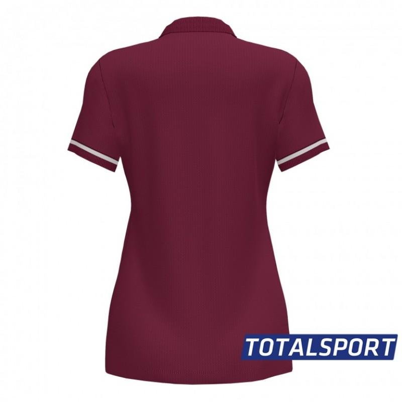 Женская футболка поло Joma 901272.672 POLO CHAMPIONSHIP VI бордовая