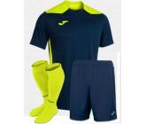 Футбольная форма Joma CHAMPIONSHIP VI(футболка+шорты+гетры) 101822.321 сине-салатовая