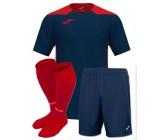 Футбольная форма Joma CHAMPIONSHIP VI(футболка+шорты+гетры) 101822.336 сине-красная