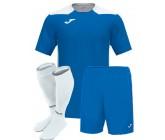 Футбольная форма Joma CHAMPIONSHIP VI(футболка+шорты+гетры) 101822.702 голубо-белая