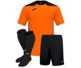 Футбольная форма Joma CHAMPIONSHIP VI(футболка+шорты+гетры) 101822.881 оранжевая