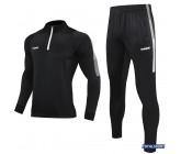 Спортивный костюм Europaw Limber Up 2101 Short zipper черный замок 3/4
