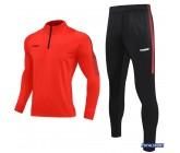 Спортивный костюм Europaw Limber Up 2101 Short zipper оранжевый замок 3/4