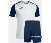 Футбольная форма Joma 101968.203 ACADEMY IV бело-синий футболка и шорты