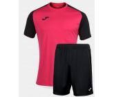 Футбольная форма Joma 101968.501 ACADEMY IV FUCSIA черно-фуксия футболка и шорты