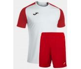 Футбольная форма Joma 101968.206 ACADEMY IV бело-красный футболка и шорты