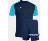 Футбольная форма Joma 101968.342 ACADEMY IV бирюзово-синий футболка и шорты
