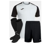 Футбольная форма Joma 101968.201 ACADEMY IV бело-черный  футболка, шорты, гетры