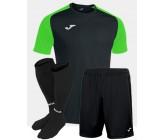 Футбольная форма Joma 101968.117 ACADEMY IV чернно-салатовый  футболка, шорты, гетры