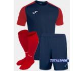 Футбольная форма Joma 101968.336 ACADEMY IV сине-красный  футболка, шорты, гетры