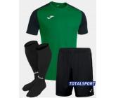 Футбольная форма Joma 101968.451 ACADEMY IV зелено-черный  футболка, шорты, гетры