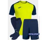 Футбольная форма Joma 101968.063 ACADEMY IV салатово-синий  футболка, шорты, гетры