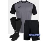 Футбольная форма Joma 101968.251 ACADEMY IV черно-серый  футболка, шорты, гетры