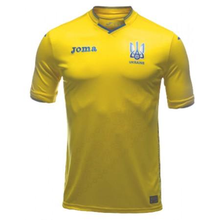 Игровая футболка с коротким рукавом сборной Украины по футболу Joma FFU101011.18