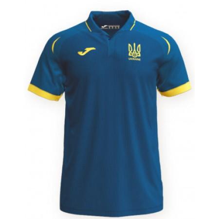 Футболка поло сборной Украины по футболу Joma FFU101011.18