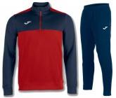 Спортивный костюм JOMA WINNER 100947.603(замок 3/4) красно-синий