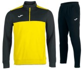Спортивный костюм JOMA WINNER 100947.901(замок 3/4) желто-черны