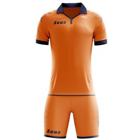 Футбольная форма Zeus KIT SCORPION ARANCIO/BLU футболка и шорты