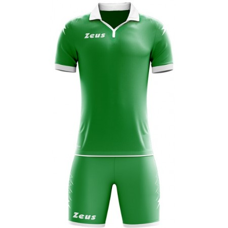 Футбольная форма Zeus KIT SCORPION VERDE BIANCO  футболка и шорты