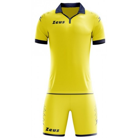 Футбольная форма Zeus KIT SCORPION GIALLO/BLU футболка и шорты