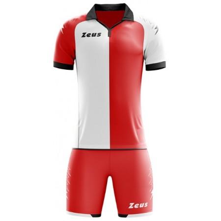 Футбольная форма Zeus KIT GRYFON ROSSO BIANCO футболка +шорты