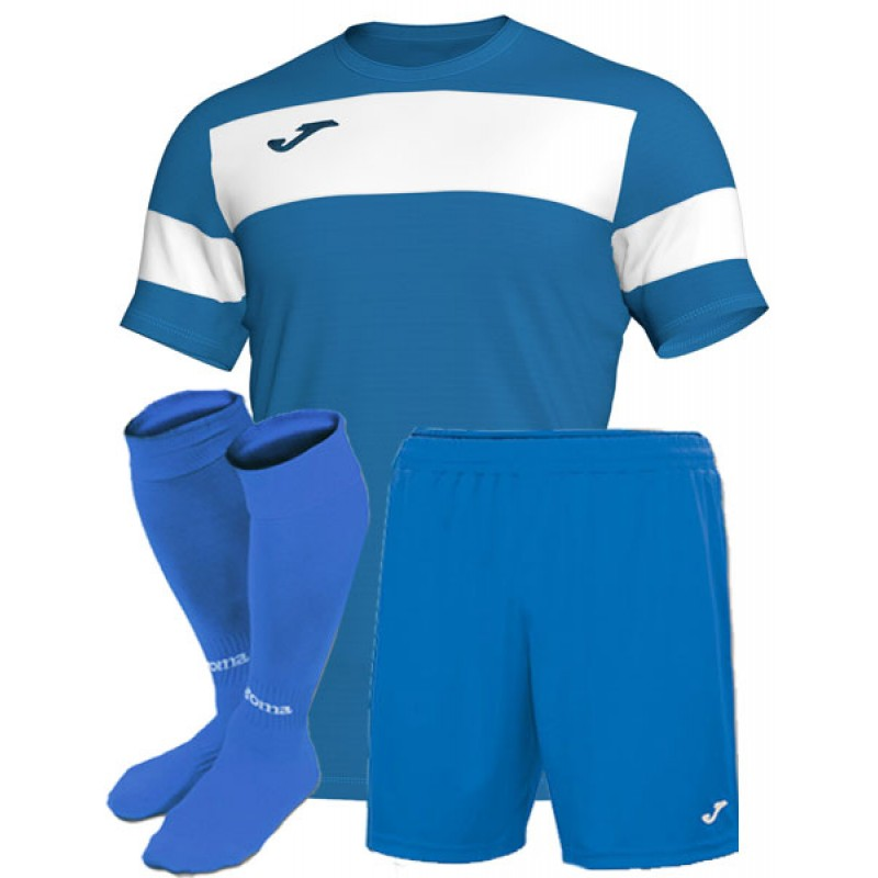 форма Joma Academy II голубая